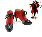 Black Bulter Kuroshitsuji Grell Sutcliff Cosplay Shoes Boots Cos Shoes