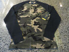 POLO RALPH LAUREN Camoflague Shirt Camo Waffle Knit Thermal Shirt Long Sleeve
