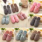 Home Winter Warm Cotton Anti-slip Shoes Gril Soft Women Indoor bedroom Slippers