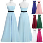 Clearance !!! Long Formal Party Bridesmaid Dress Maxi Evening Cocktail Ball Gown