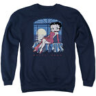 BETTY BOOP MOONLIGHT Men's Sweatshirt Crewneck $31.99 USD