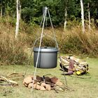 OUTAD Cooking Tripod Outdoor Picnic Pot Holder Camping Campfire Steel Stand VIP2