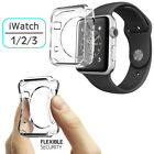 For Apple i Watch 38/42MM Slim & Thin TPU Rubber Soft Gel Protective Case Cover