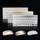 Wireless Keyboard and Mouse Combo 2.4G Whisper-quiet Compact and Slim Set PC MAC