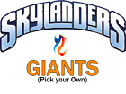 Giants Skylanders Lot | Pick your Own