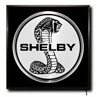 SHELBY LED 50cm x 50cm WALL LIGHT BADGE TRUCK LOGO CAB MAN CAVE SIGN + REMOTE