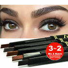 Max Dona Brow Definer Eyebrow Pencil Pen Retractable Lasting Makeup 3 way to use