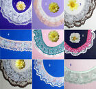 Ruffled 2 Layer Lace Trim 4-5 Yards CLOSEOUT Multi Color 52X Added Trim ShipFree