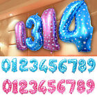 "16"" Foil 0 - 9 Number Balloons Helium Large Happy Birthday Wedding Party Decor"