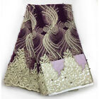 african new arrival French lace for african lace fabric in 5 yards/lot