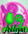 Custom Airbrushed Barney and Baby Bop Shirt w/ Name (Sizes 6 months - Adult 5XL) image