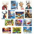 MagiDeal Creative DIY Painting By Numbers Unframed Canvas Picture Wall Decor