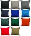 Durable Pillow Cover Cushion Case Home Sofa Chair Decorative 18X18 Square Cotton