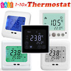 1-10x LCD 16A Raumthermostat Digitale Bodenfühler Thermostat Fußbodenheizung NEW