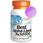 Doctor's Best, Best Alpha-Lipoic Acid, 600 mg