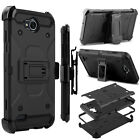 For LG X Power 2 /Fiesta LTE / X Charge Screen Protector Hybrid Stand Case Cover