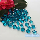 10mm 4CT Teal Blue Acrylic Diamond Confetti Wedding Party Crystal Table Scatters