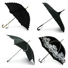 Black Wedding Bridal Umbrellas- Lace, Frill, Pagoda, Vintage