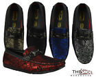 Mens Loafers Sedagatti Dress Shoes Moccasin Wedding Formal Slip On SED746 Party