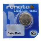 Renata Silver Oxide Watch Battery Single Packs - BEST PRICE - Authorized Seller!