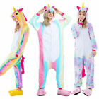Adult Pikachu Pokemon go Unicorn Costume Kigurumi Animals Fleece Pyjamas