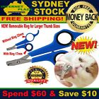 Adjustable Pet Nail Dog Cat Clippers Trimmer Scissors Grooming Stainless Steel