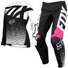 New FOX Racing 180 2018 Black Pink Womens Motocross Jersey & Pants Outfit MX