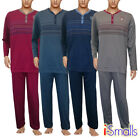 i-Smalls Men's Traditional Pattern Flannel Soft Cotton Pyjama Set (M to 5XL)