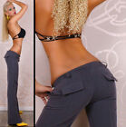 Sexy Low Rise Classic Bootcut Trousers Office Style Trousers  HOT Size 6-14