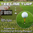 5' Wide Super Tee Line Turf, that holds a Tee (Includes Free Shipping)