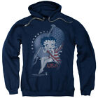 Betty Boop Proud Betty Pullover Hoodies for Men or Kids $26.39 USD