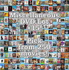 Miscellaneous DVD Lot #15: DISC ONLY - Pick Items to Bundle and Save! $2.5 USD