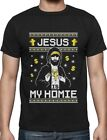 Jesus Is My Homie Ugly Christmas Sweater T-Shirt Xmas Gift