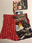 Mens Christmas Star Wars Boxers, Red, NEW $9.99 USD