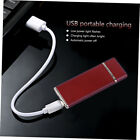 USB Charging Lighter Windproof Rechargeable  Ultra-Thin G-Sensor Lighter LK FE
