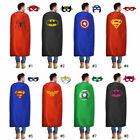 birthday party accessories for adults - Adults Superhero Cape Mask Costume for Birthday Party Halloween Favors and ideas