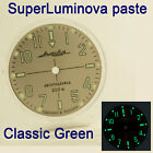 WATCHES-PARTS: HAND PAINTED SUPERLUMIA  649 DIAL VOSTOK AMPHIBIA 3 KINDS OF LUME image