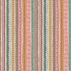 Pink Wiggle Stripe Co-ordinating Fabric - Doodle-Days Quilting Cotton Makower