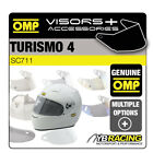 OMP FORMULA 4 HELMET OPTIONAL EXTRA VISORS & ACCESSORIES MADE BY OMP
