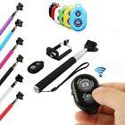 Selfie Stick Telescopic With Bluetooth Wireless Remote for Motorola Smartphones
