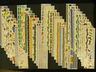 """CREATIVE MEMORIES Great Length Stickers (12""""x3"""") Over 100 to choose from!! Huge"""