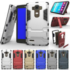 For LG G4 Case Heavy Duty Hybrid Shockproof Rugged Armor Kickstand Case Cover