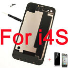 New Back Glass Housing Battery Cover Case Replacement for iPhone 4 4S +Tools