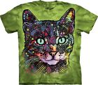 Watchful Cat Animal T Shirt Adult Unisex The Mountain