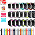 Silicone Replacement Strap Watch Band for Apple Watch Series 5 4 3 2 1 image