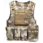 Camouflage Hunting Military Tactical Vest Wargame Body Molle Armor Hunting Vest