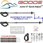 Adjustable Ski Poles 2019 Goode Jr Quick Adjust 34 42 inches