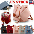 US Women New Handbag Shoulder Bags Tote Purse Leather Messen