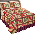 Reversible Fall Foliage & Birds Patchwork Quilt - add individual sizes after