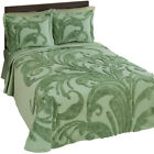 Bethany Scroll Chenille Bedspread, by Collections Etc image